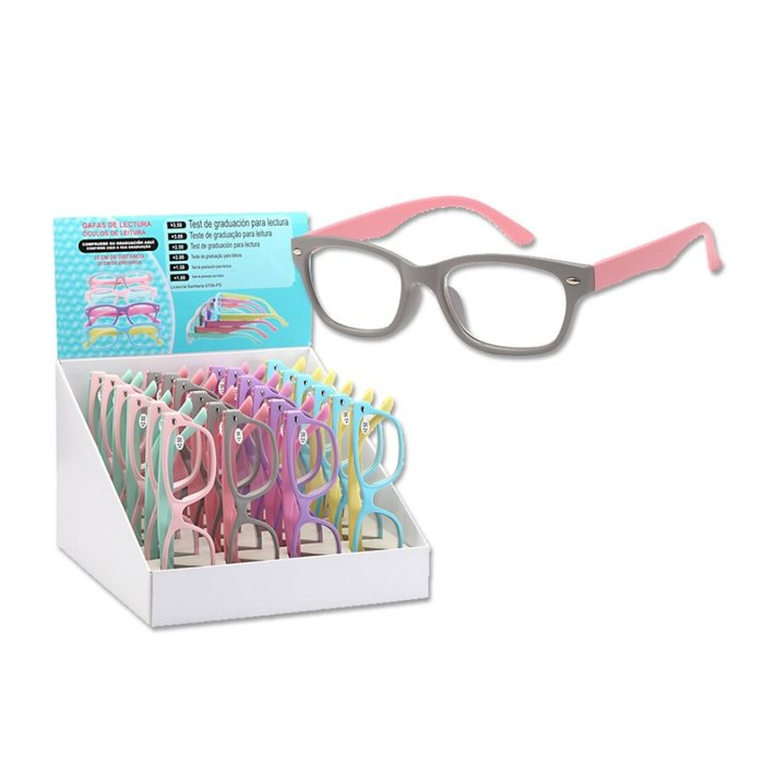 Expositor 24 gafas lectura umay seÑora pastel