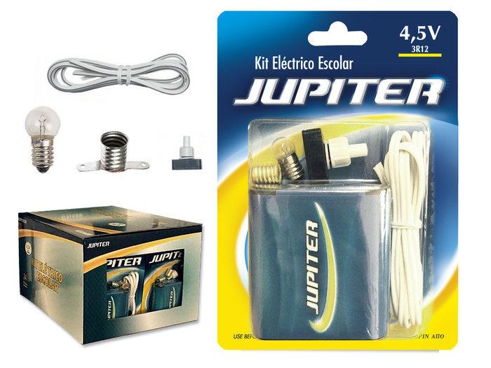 Kit electrico escolar jupiter blister