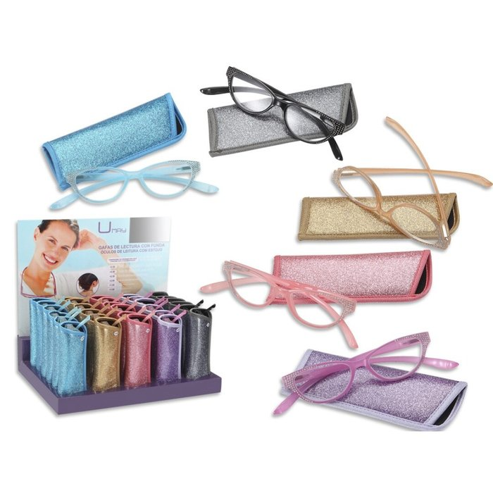 Expositor 30 gafas lectura umay seÑora glitter&glamour