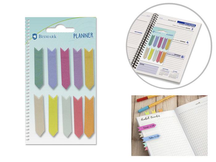 Banderitas adhesivas mini guias colores surtidos