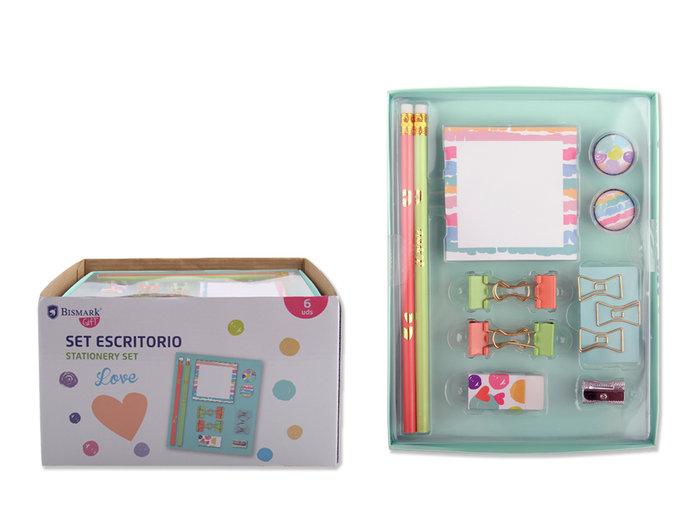 Set escritorio caja regalo love things