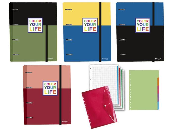 Carpebloc a4 color your life 100h sobre