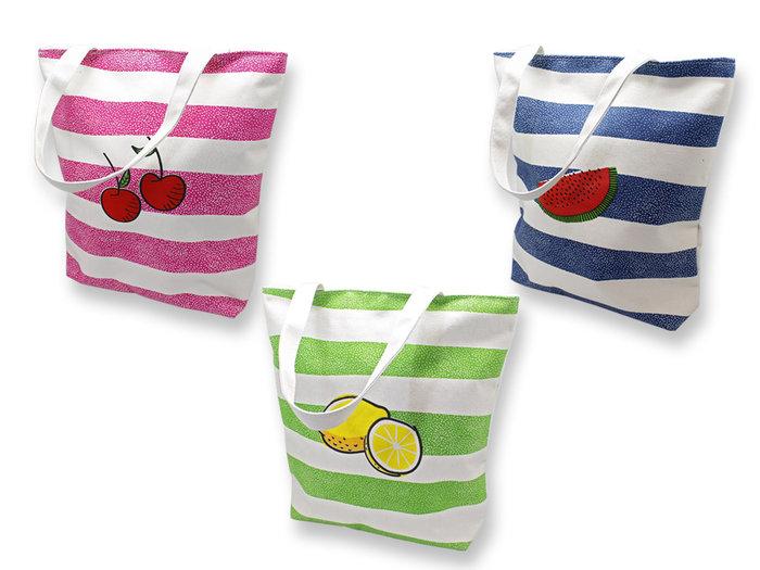 Bolsa shopping frutas surtidas