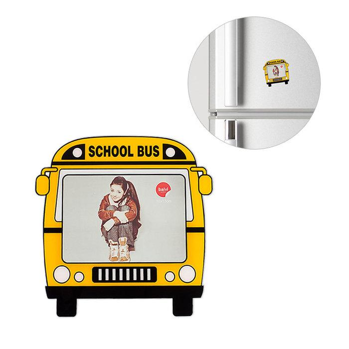 Marco de fotos magnetico school bus 4.7x3.5