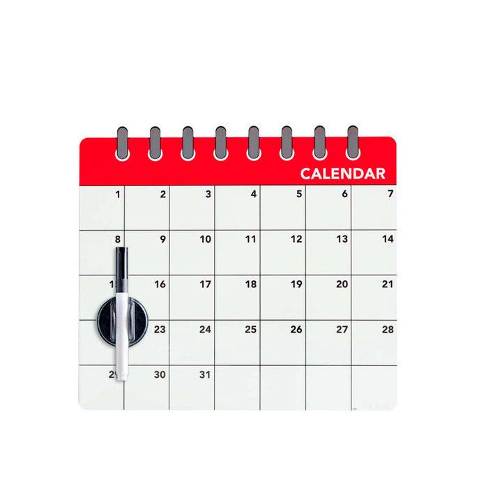 Pizarra magnetica nevera calendar