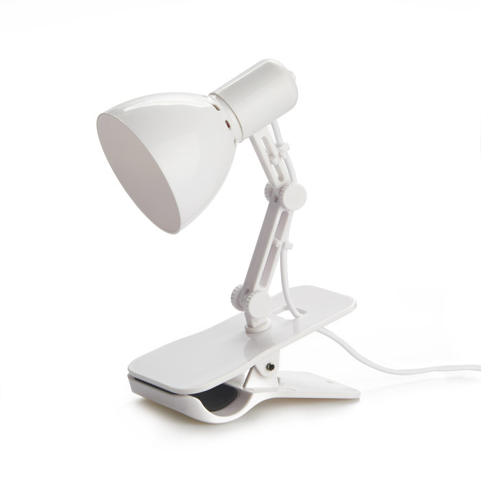 Luz usb  clamp  blanco  cable usb incl  4  5v