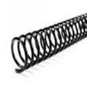 Espiral metalica 42mm negro