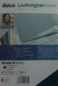 Portada carton ibiscolex covers azul a4