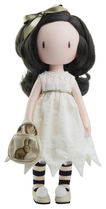 Muñeca i love you little rabbit con vestido romantico.