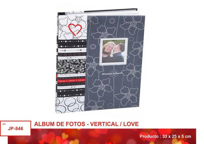 Album fotos grande tonos blancos y grises