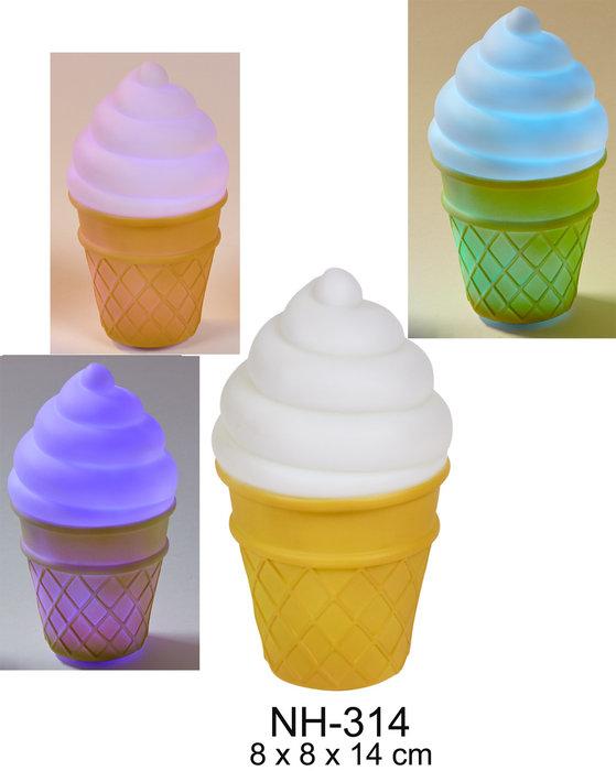 Luz quitamiedos led helado