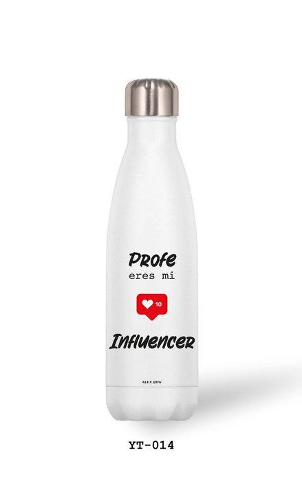 Botella aluminio 500 ml profe... influencer