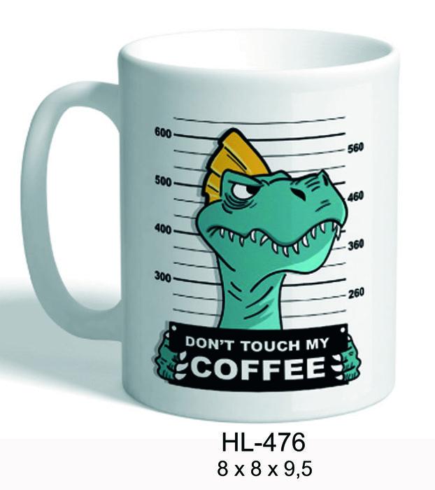 Taza dinosaurio cafe