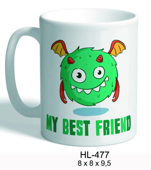 Taza monsters verde