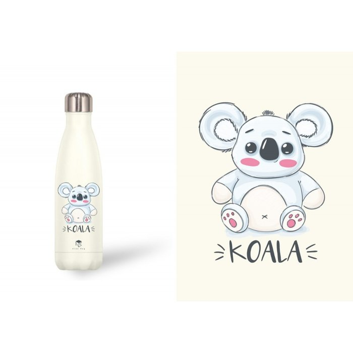 Botella acero inox 500 ml kids koala