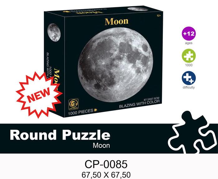 Puzzle redondo moon luna 1000 piezas