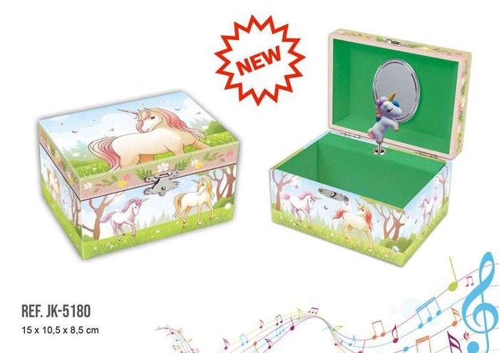 Joyero musical pequeÑo unicornio