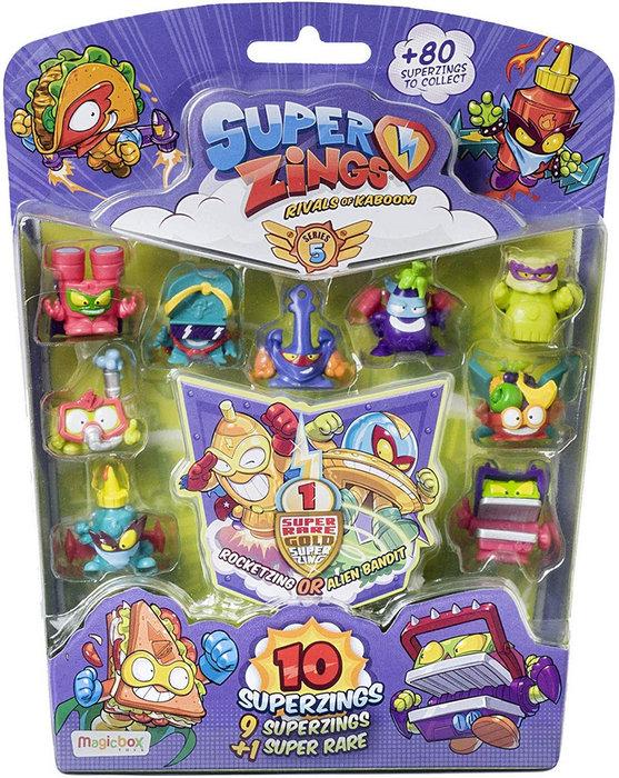 Superzings serie v blister 10 figuras