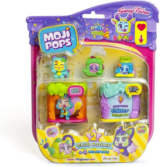 Mojipops party club room blister4