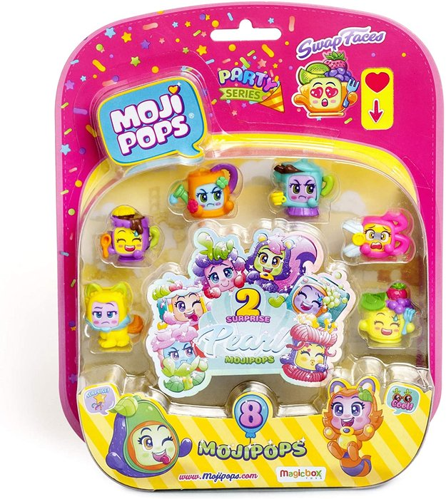 Mojipops party pearl surprise blister8 figurine