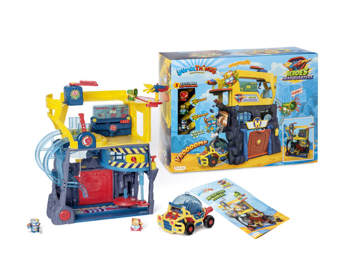 Superzings serie vi heroes headquarters playset