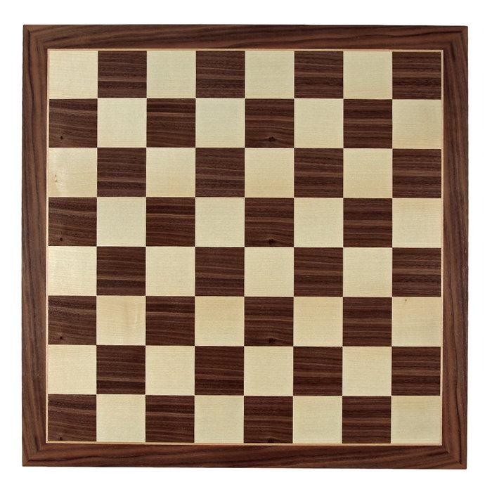 Juego tablero de ajedrez pro 40x40 cerezo