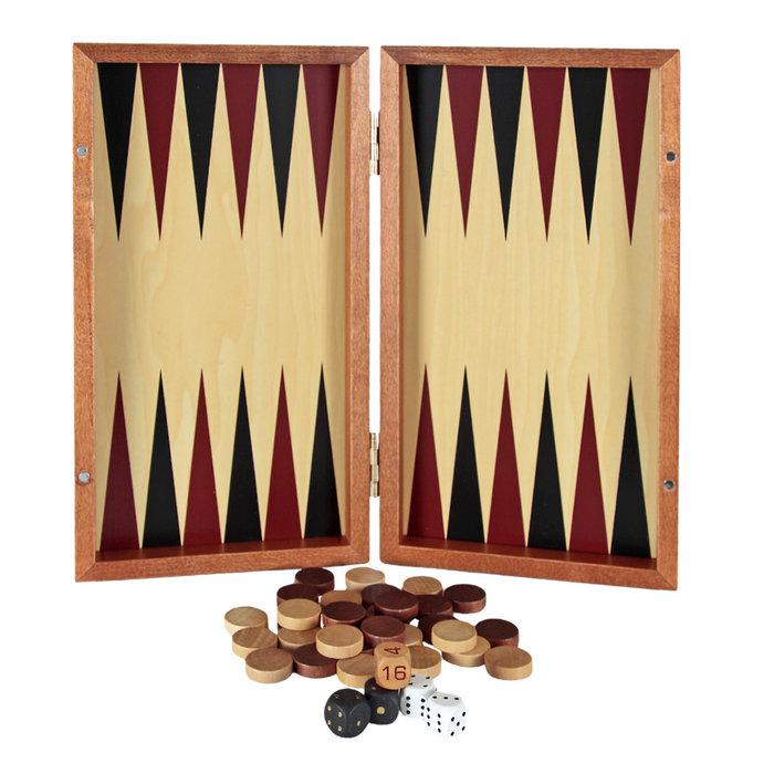 Juego backgammon entrenamiento