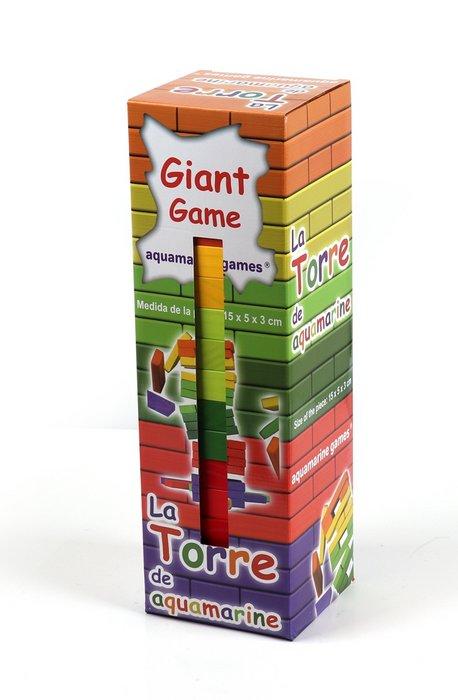 Juego de mesa la torre de colores giant game