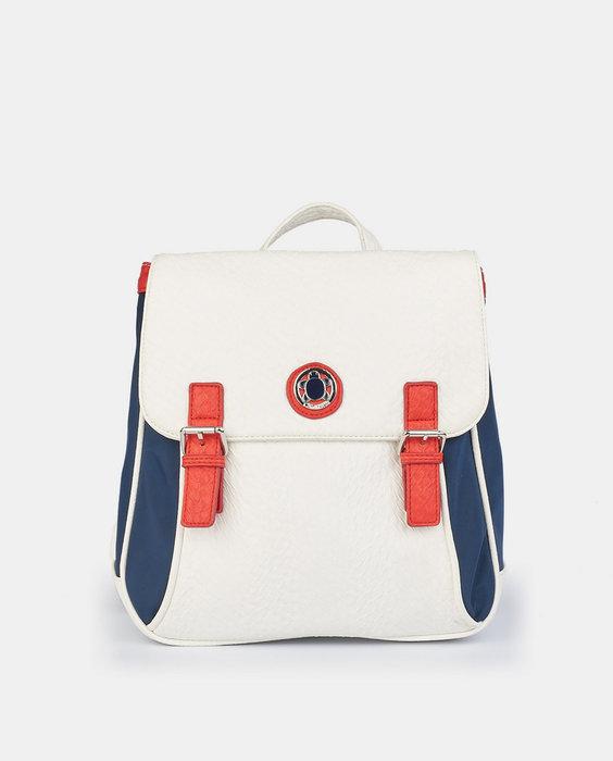 Bolso mochila grande sorolla blanco