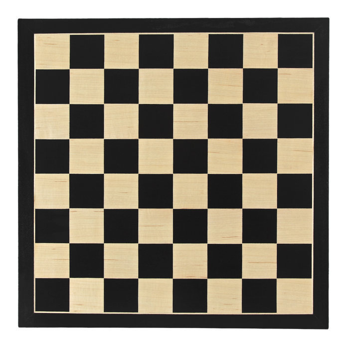 Juego tablero de ajedrez 40x40 negro