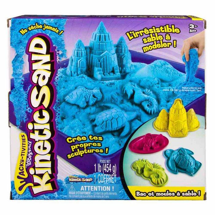 Juego kinetic sand playset castillo