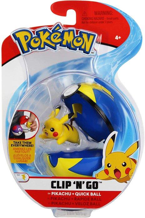 Pokemon clip n go surtidos