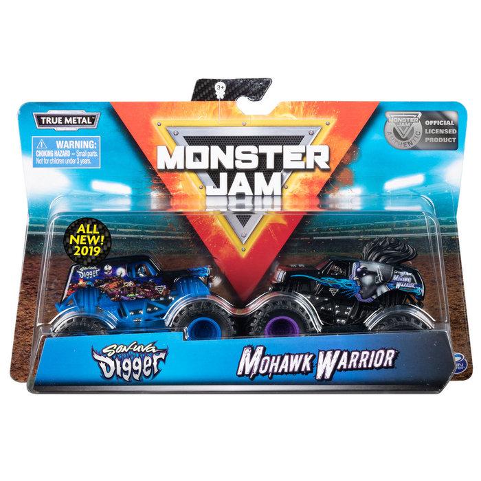 Vehiculo monster jam pack doble 1:64