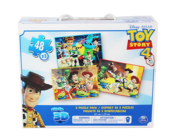 Puzzle toy story 4 super 3d