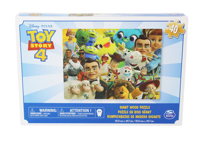 Puzle madera gigante toy story 4