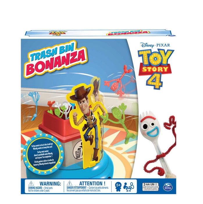 Juguete toy story 4 forky a la basura