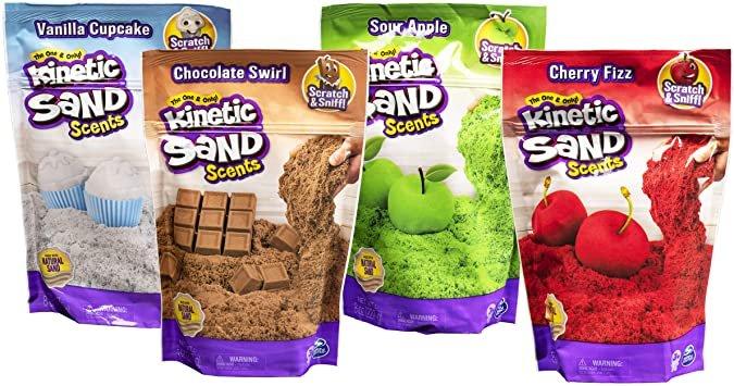 Bolsa kinetic sand con olor surtidas
