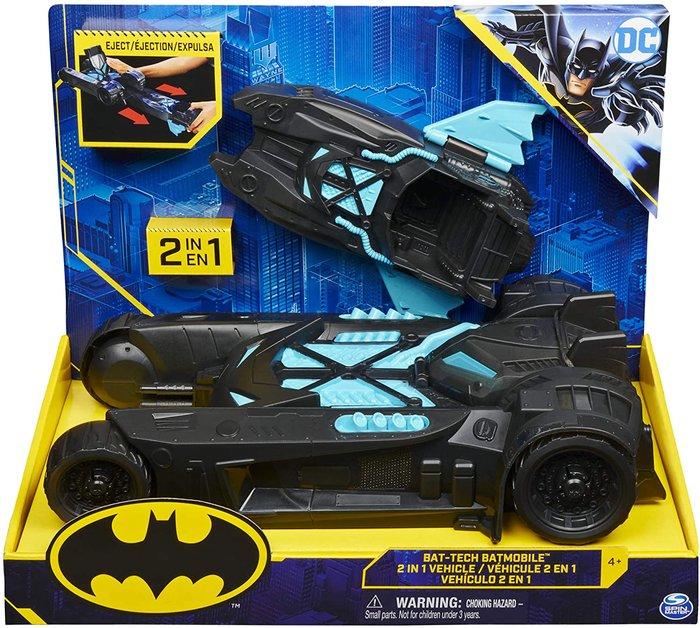 Batman batmovil 2 en 1 bat tech