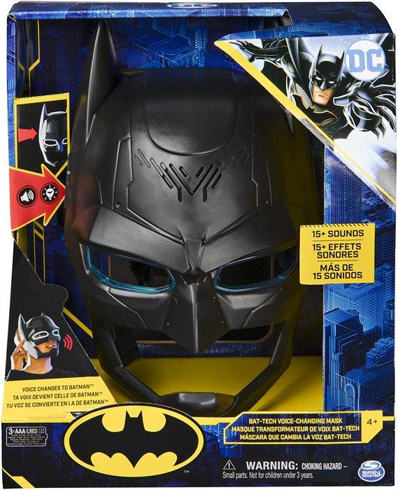 Batman mascara cambio voz tech