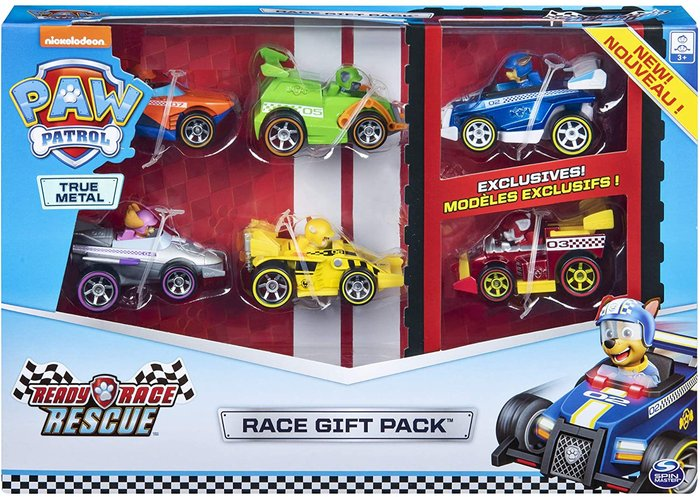 Paw patrol diecast multipack race&go
