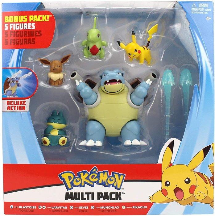 Pokemon pack 5 figuras de combate