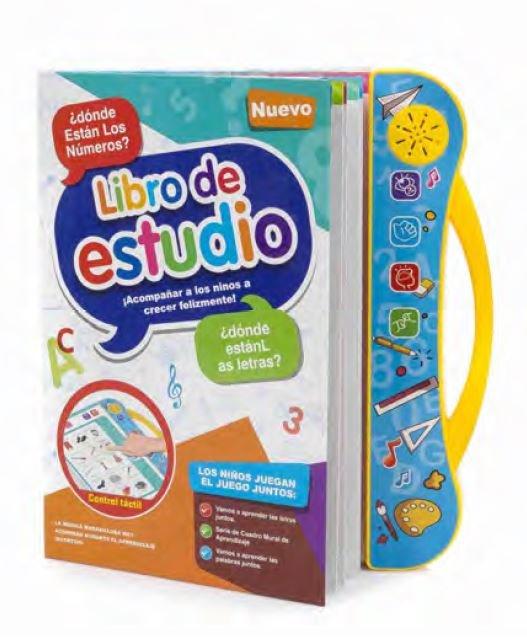 Juego libro electronico educativo con sonidos bilingue