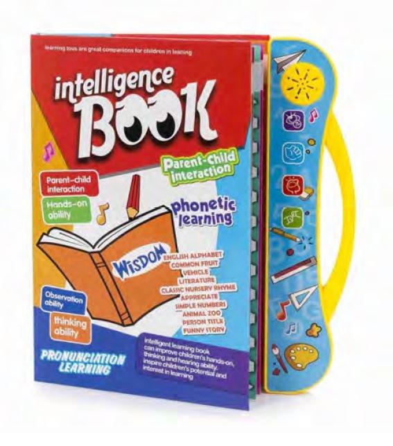Study book libro electronico educativo sonidos en ingles