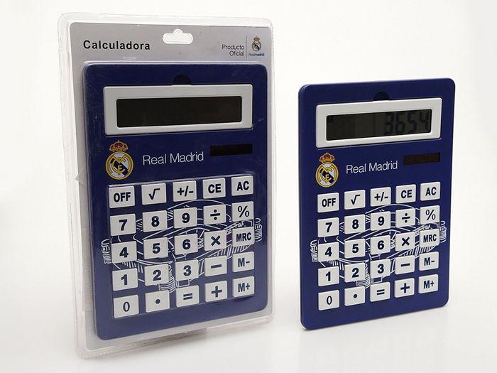 Calculadora jumbo real madrid 29,5x21