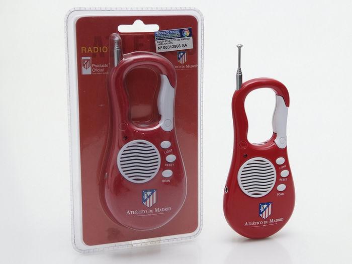 Radio portatil mosqueton atletico madrid 710335