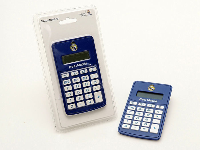 Calculadora bolsillo real madrid
