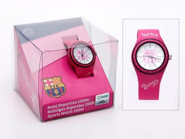 Reloj pulsera chica 10atm f c barcelona