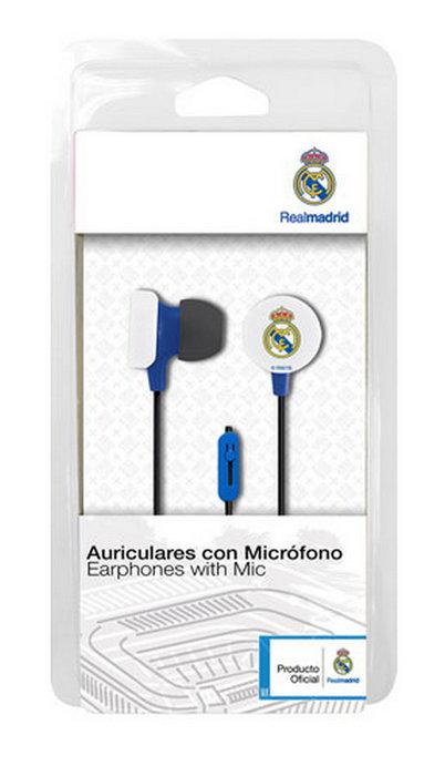 Auricular casco real madrid azul ref 9106016