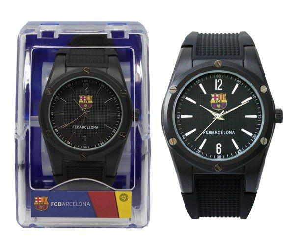 Reloj pulsera 50 mm caballero fc barcelona negro