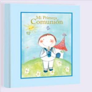 Libro comunion maletin lc10309 niño natural paper